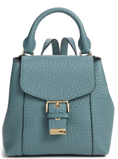 Burberry 'Belmont' Convertible Leather Backpack