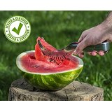 Atziloose Watermelon Slicer Tongs and Corer Stainless Steel Cake Cutter