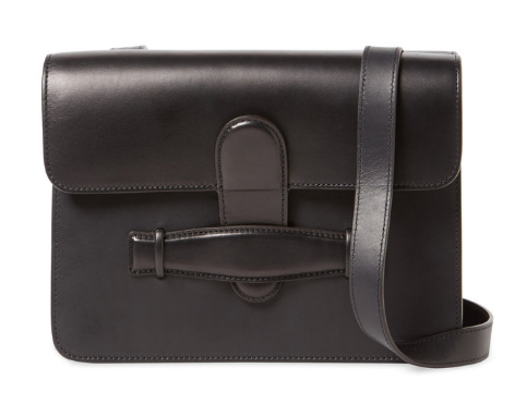 Céline Symmetrical Small Leather Shoulder Bag