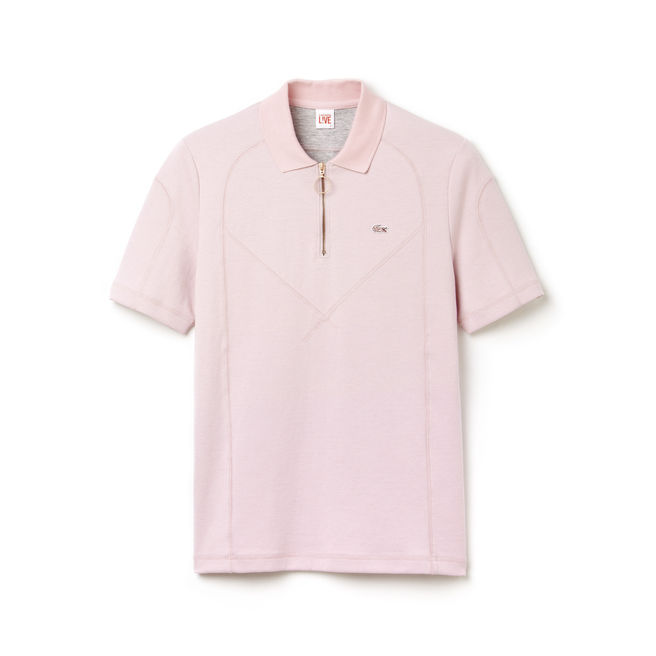 L!ve Neoprene Seamed Polo | LACOSTE