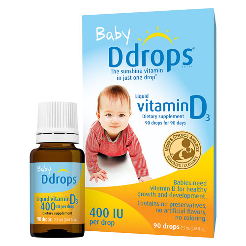 D Drops Liquid Vitamin D3 Baby