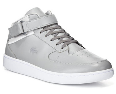 Lacoste Men's Turbo Leather Chukka Lace-Up Sneakers