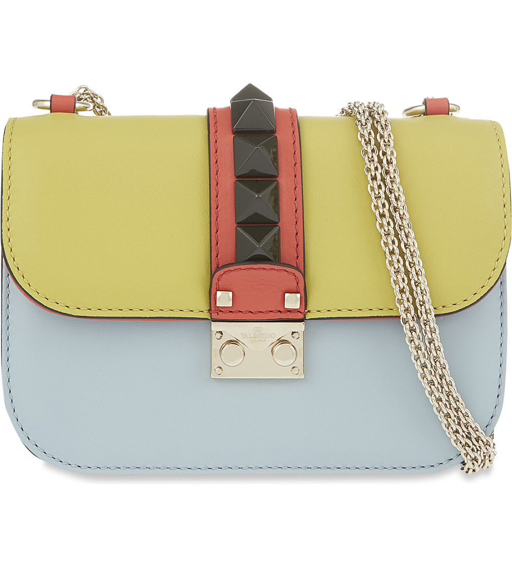 VALENTINO - Rockstud lock medium shoulder bag