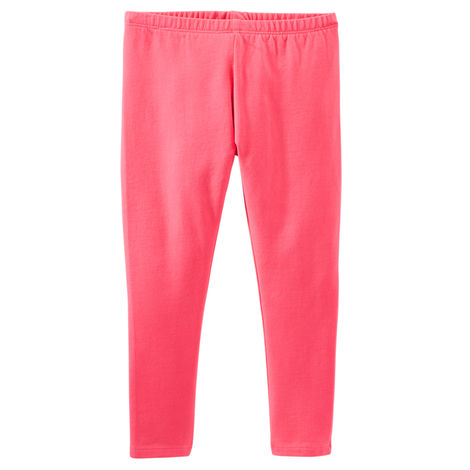 Toddler Girl Solid Leggings