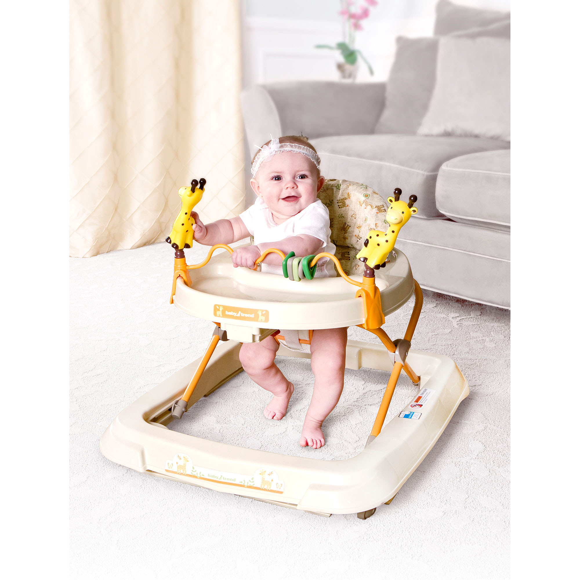 Baby Trend - Baby Activity Walker with Toys, Kiku - Walmart.com