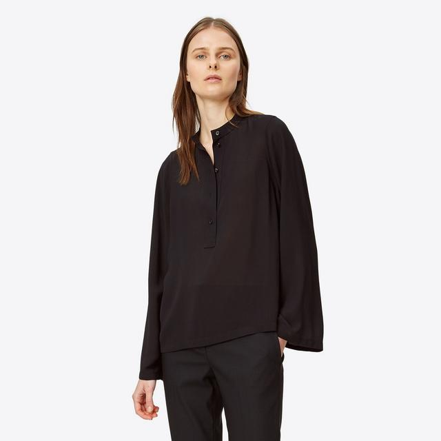 Helmut Lang Viscose Twill Top