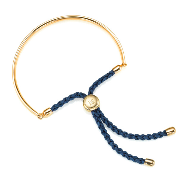 Fiji Friendship Bracelet in 18ct Gold Plated Vermeil on Sterling Silver
