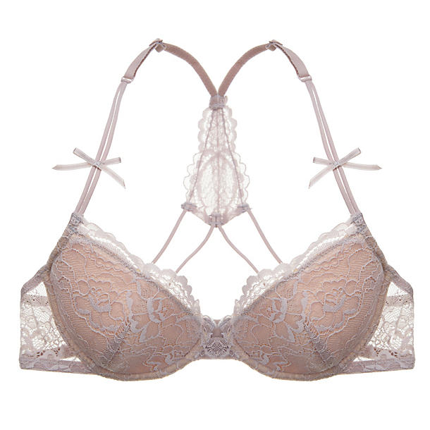 Samantha Chang All Lace Underwire T-Back Bra