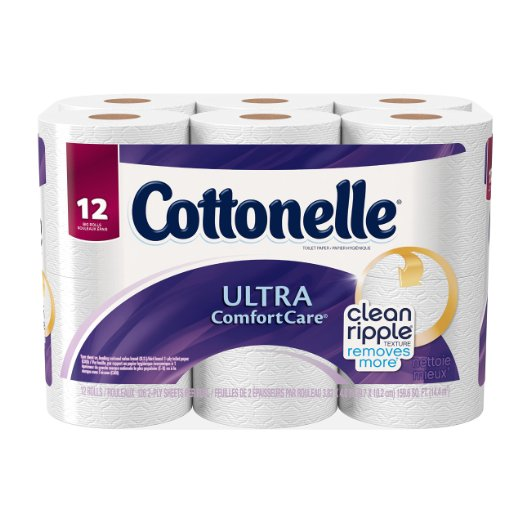 Cottonelle Ultra Comfort Care Big Roll Toilet Paper, 12 Count: Health & Personal Care