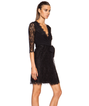 Extra 35% Off + Extra 10% Off Diane von Furstenberg Colleen 3/4-Sleeve Lace Dress @ LastCall by Neiman Marcus