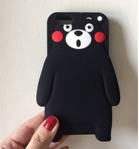 Kumamon Silicone Case iPhone 6s iPhone 6: Cell Phones & Accessories