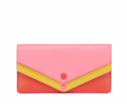 Tory Burch Avery Tri-color Envelope Continental Wallet : Women's Sale