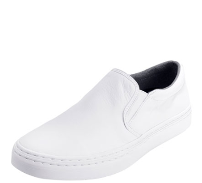 Cole Haan Falmouth Grand.OS Leather 2-Gore Slip-On Sneaker, White
