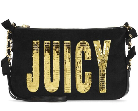 Juicy Flag Atwater Velour Crossbody