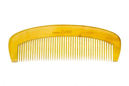 Tan's White Horn Comb 0404