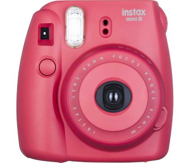 Fujifilm instax Mini 8 Instant Film Camera Red