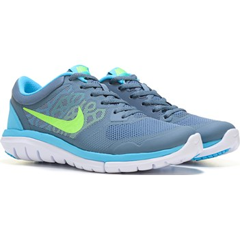 Nike Flex 2015 RN Running Shoe Graphite/Blue