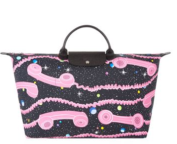 Longchamp Jeremy Scott Large Travel Bag