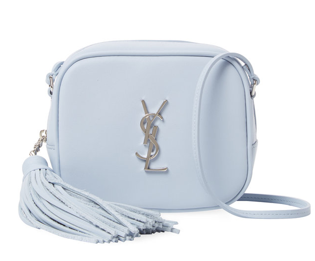 Monogram Blogger Small Leather Crossbody by Saint Laurent Paris at Gilt