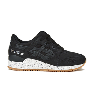 Asics Unisex Gel-Lyte III 'Oxidized Pack' Trainers - Black/Black - FREE UK Delivery