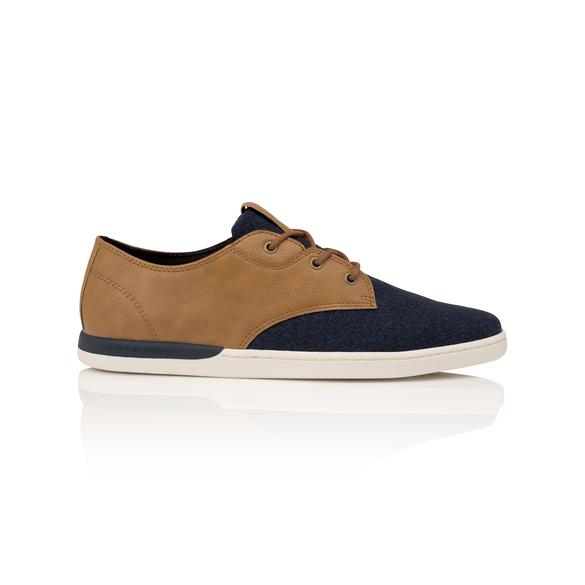 Men's Navy Brown Shoe, Creative Recreation Vito Lo CR2630031