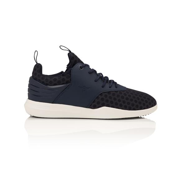 Men's Navy High-Top Sneaker, Creative Recreation Deross