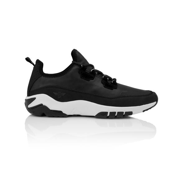 Men's Black Cross Trainer Shoe, Creative Recreation Napoli