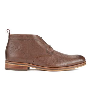 H Shoes by Hudson Men's Lenin Leather Desert Boots - Brown - FREE UK Delivery