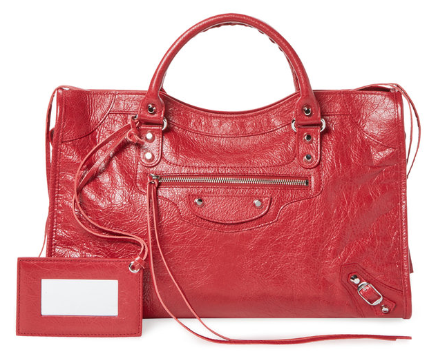 Classic City Medium Leather Satchel by Balenciaga