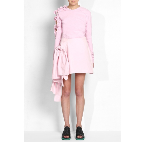 Knotted Skirt Pink | Danielle Romeril | Wolf & Badger