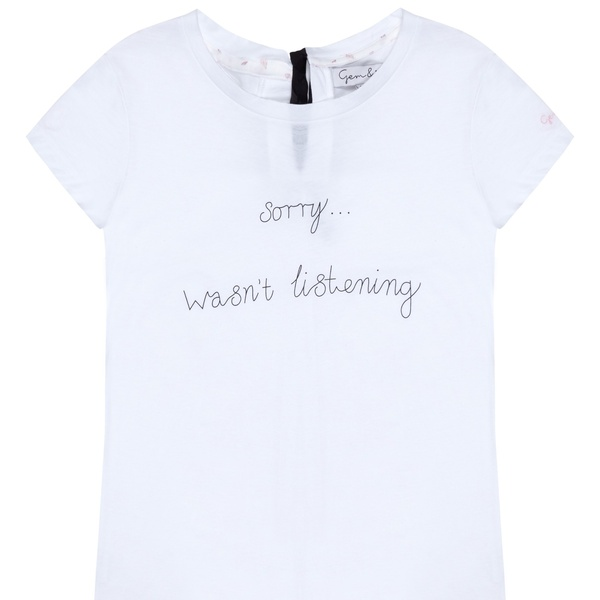 Wasn't Listening Tee | Gem&i | Wolf & Badger