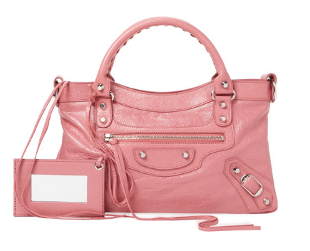 Classic First Leather Satchel by Balenciaga
