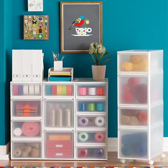 Like-it Translucent Stacking Drawers | The Container Store