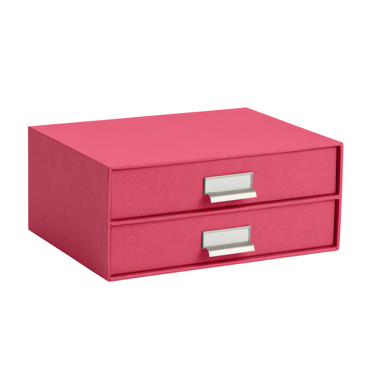 Bigso Pink Stockholm Paper Drawers | The Container Store