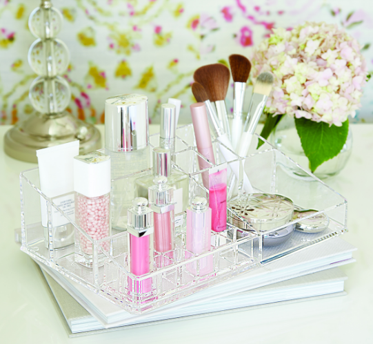 Large Acrylic Makeup Organizer | The Container Store