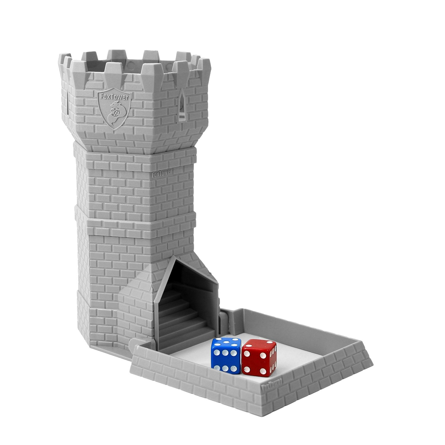 FoxTower Standard Size Dice Tower for RPGs and Board Games