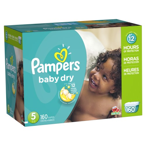 Pampers Baby Dry 5号尿布160片