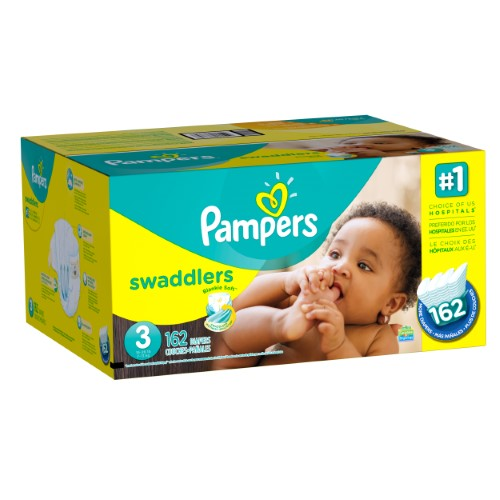 Pampers Swaddlers 3号尿布162片
