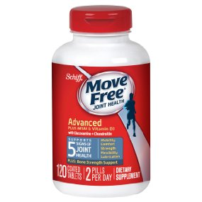 Move Free Advanced Plus MSM and Vitamin D3, 120 Count: Health & Personal Care