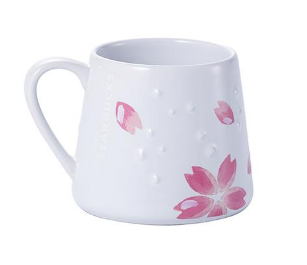 STARBUCKS Cherry Blossom Ceramic Cup 355ml (Asia Limited Edition)