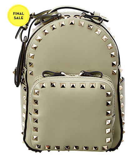 Valentino Rockstud Small Leather Backpack