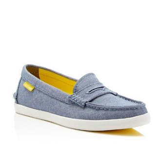 Cole Haan Pinch Chambray Weekender Loafers | Bloomingdale's