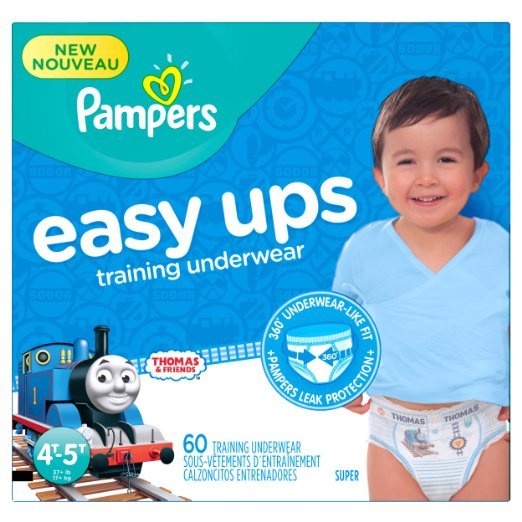 Pampers Easy Ups Training Pants Diapers , Value Pack,