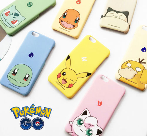 Popular Game Pokemon Series Cute Pikachu Shell Case Cover for iPhone 6 6S Plus | eBay