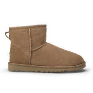 UGG Women's Classic Mini Sheepskin Boots - Chestnut - FREE UK Delivery