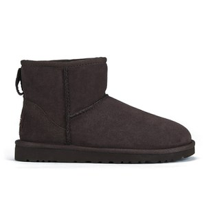 UGG Women's Classic Mini Sheepskin Boots - Chocolate - FREE UK Delivery
