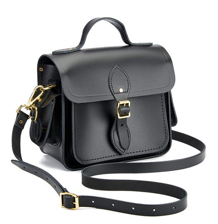 The Cambridge Satchel Company Women's Small Traveller with Side Pockets - Black