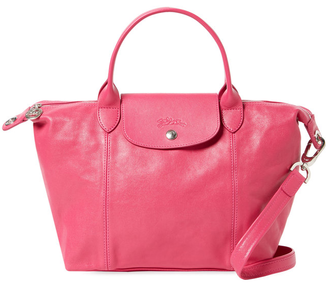 Le Pliage Cuir Small Tote by Longchamp