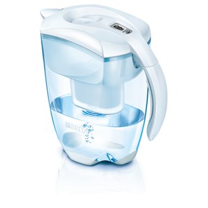BRITA Elemaris Meter XL Water Filter Jug - White (3.5L) Homeware | TheHut.com