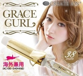 Crates Ion Grace Hair Curling 38mm